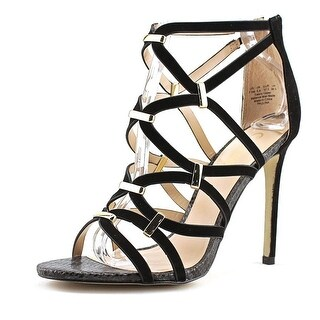 Carlos by Carlos Santana Paulina   Open Toe Canvas  Sandals