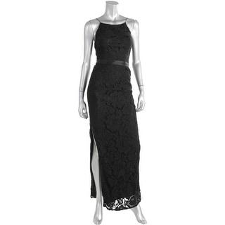 Aidan Mattox Womens Lace Prom Semi-Formal Dress