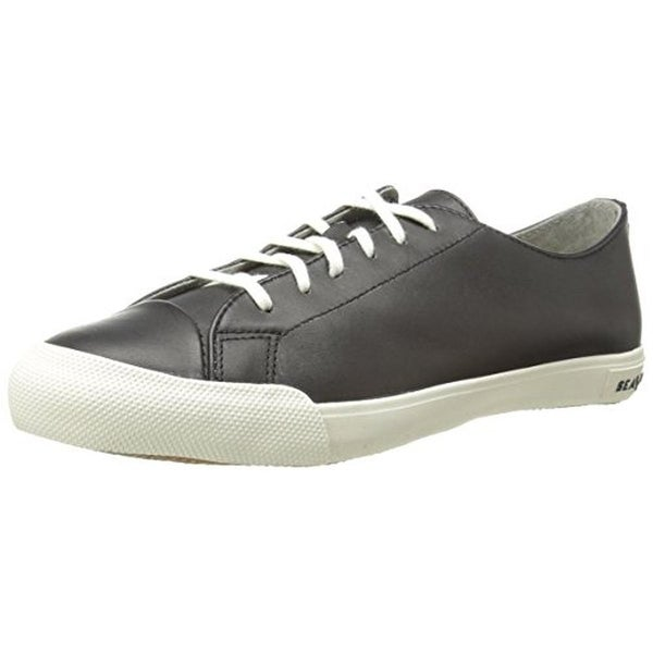 SeaVees Mens Army Issue Casual Shoes Contrast Trim Lace-Up