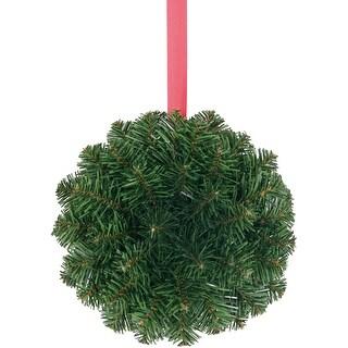 "Pine Kissing Ball 8""-Green"