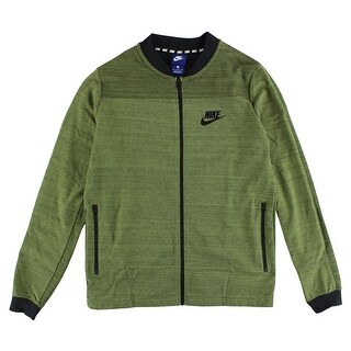 Nike Mens Sportswear AV15 Knit Jacket Palm Green - palm green/black