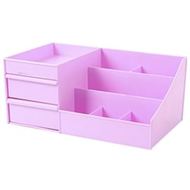 Drawer Type Organizer Comestics Sotrage Box 3127 L purple