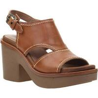 2616ca95aaf Shop OTBT Women s Tailgate Heeled Sandal Zinc Leather - Free ...