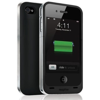 Mophie Juice Pack Air Battery Case for Apple iPhone 4/4s - Black