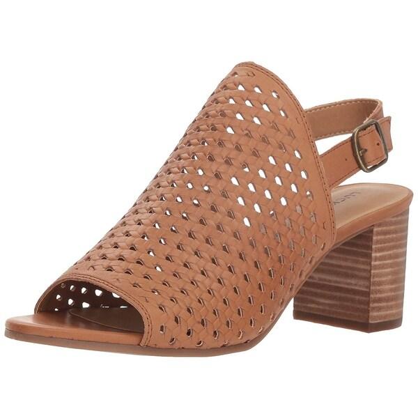 d00de1c80d8 Shop Lucky Brand Women s Verazino Heeled Sandal - Free Shipping On Orders  Over  45 - Overstock - 27622321