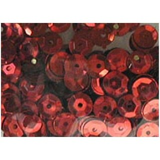 PA Ess Cupped Sequins 5mm 800pc Red
