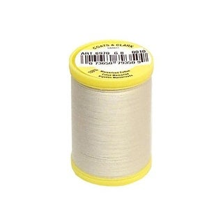 S970 8010 Coats All Purpose Cotton Thread 225yd Natural