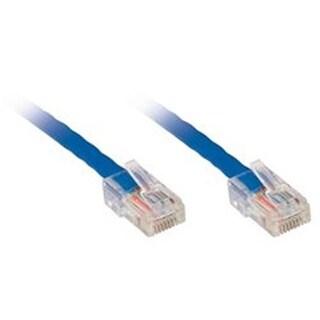 Ziotek 119 7287 CAT6 Patch Cable, 7ft, Blue