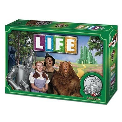 The Game of LIFE Wizard of Oz 75th Anniversary Edition