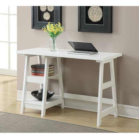 Porch & Den Logan Desk with Shelves