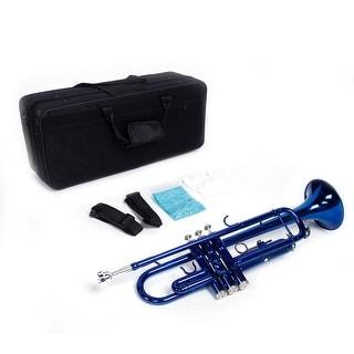 """20"""" Brass B Flat Trumpet Blue"""
