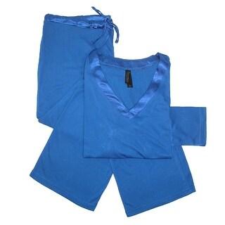 Pajama Drama Women's Plus Size Long Pant Pajama Set - 1X