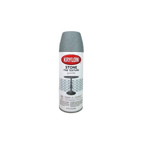 3700 krylon natural stone paint 12oz granite