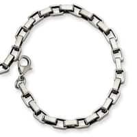 Chisel Stainless Steel Link Bracelet