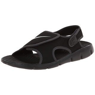 Nike Kids Boy's Sunray Adjust 4 (Little Kid/Big Kid) Black/White/Anthracite Sandal 12 Little Kid M