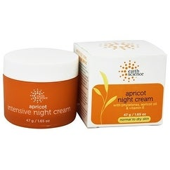 Earth Science Night Cream Apricot 1.65-ounce