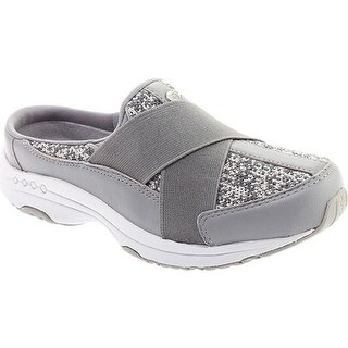 Easy Spirit Women's Thirst Slip On Light Grey Textile