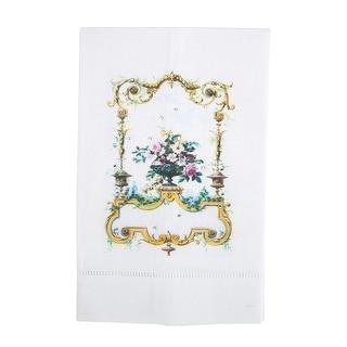 Jewels of Montmartre Linen Tea Towel with Rhinestones