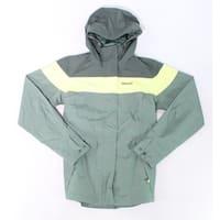 Marmot Green Mens Size Medium M Colorblock Windbreaker Jacket