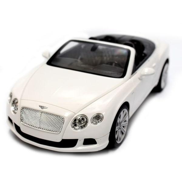 Shop 1:12 RC Bentley Continental GT Convertible (White