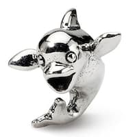 Sterling Silver Reflections Kids Dolphin Bead (4mm Diameter Hole)