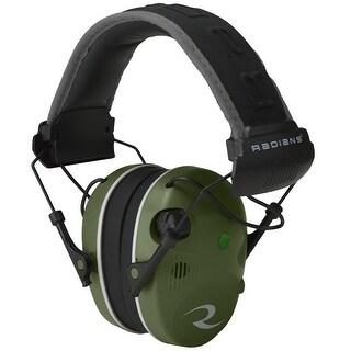 Radians r3400eqcs radians r3400eqcs r3400 military green/bk-quad microphone