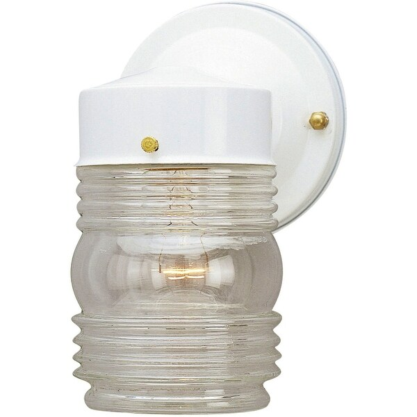 Westinghouse 66878 Outdoor Wall Fixture White 4 1 2 Dia
