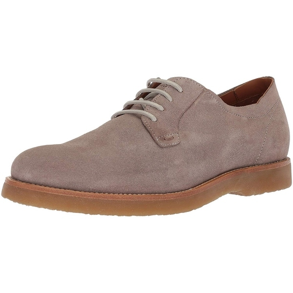 c578c948607 Shop Hugo Boss Mens 50383522 Suede Lace Up Casual Oxfords - Free ...