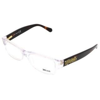 Just Cavalli JC0455/V 026 Clear Rectangle Optical Frames - 54-15-135