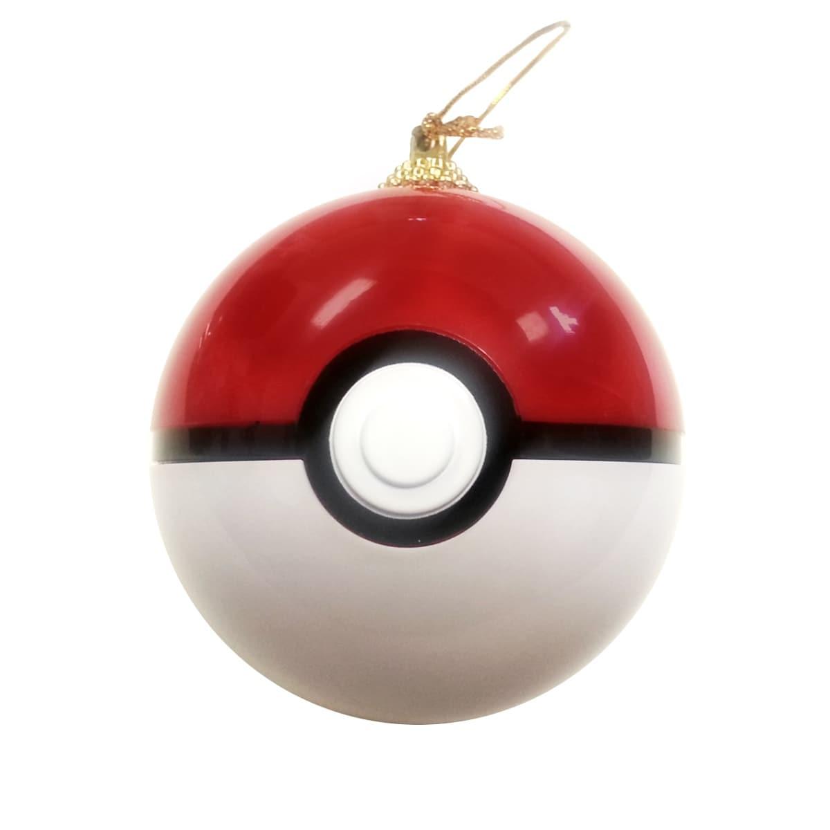 Pokeball Christmas Tree Ornament. Opens flyout.