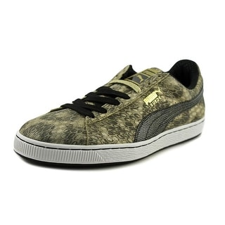 Puma Suede Reptile Men Synthetic Gold Fashion Sneakers