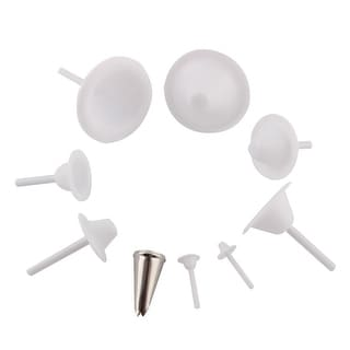 Home Kitchen Bakeware Plastic Nail Cake Decorating Tools 9 in 1