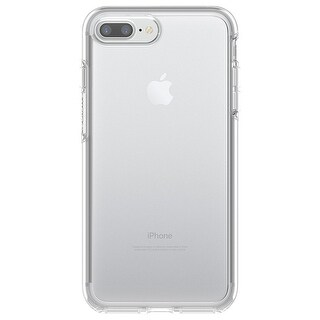 OtterBox SYMMETRY CLEAR SERIES Case for iPhone 8 Plus & iPhone 7 Plus - Clear - WHITE