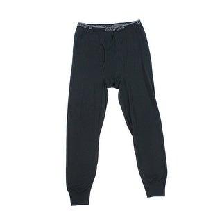 Duofold NEW Black Mens Size Medium M Pull On Leggings Atheltic Apparel
