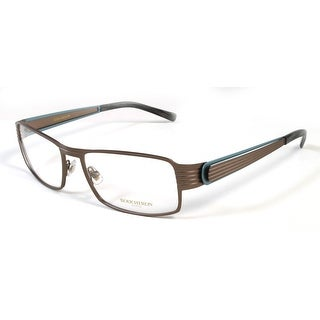 Boucheron Unisex Rectangular Eyeglasses Brown/Multi - S