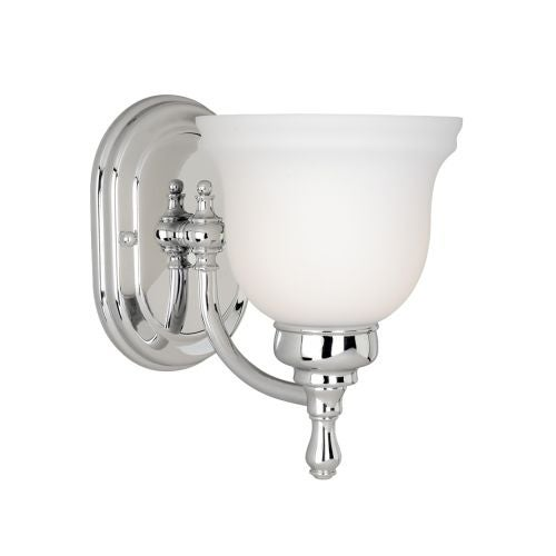 Vaxcel Lighting CL-VLU001 Cologne 1 Light Bathroom Sconce - 5.75 Inches Wide - Thumbnail 0