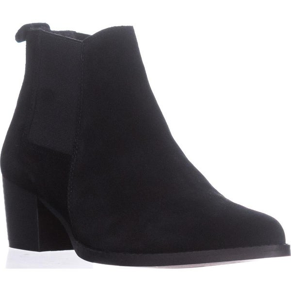 Kenneth Cole Russie Ankle Booties, Black - 8 us / 39 eu