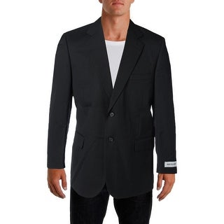 Bert Pulitzer Mens Wool HerringBone Two-Button Blazer