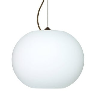 Besa Lighting 1KX-477507 Jordo 1 Light Cable-Hung Pendant with Opal Matte Glass
