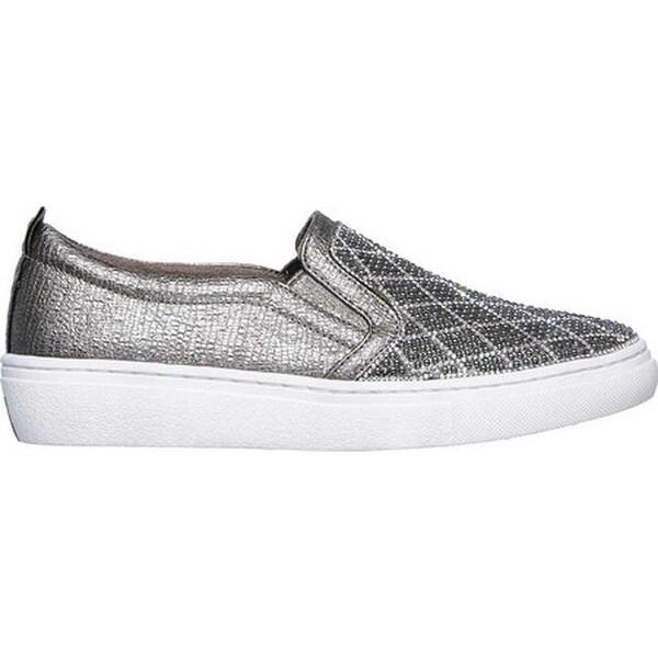 Shop Skechers Women's Goldie Diamond Darling Slip On Sneaker