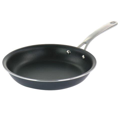 Martha Stewart 10 Inch Nonstick Aluminum Frying Pan in Dark Gray