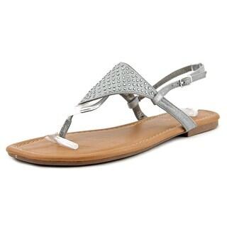 Rampage Rinnali Open Toe Canvas Thong Sandal