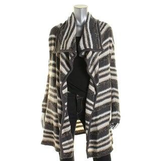 Kensie Womens Open Front Asymmetrical Cardigan Sweater - XS/S