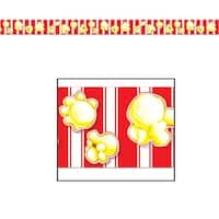 """Club pack of 12 Popcorn Party Tape 3"""" x 20' - Red"""
