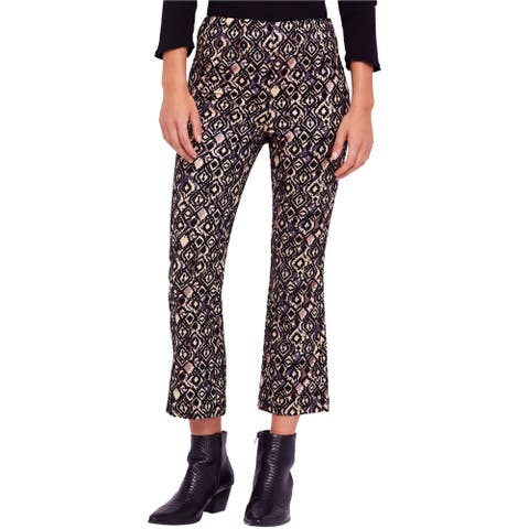 Free People Womens Kick-Flare Casual Cropped Pants