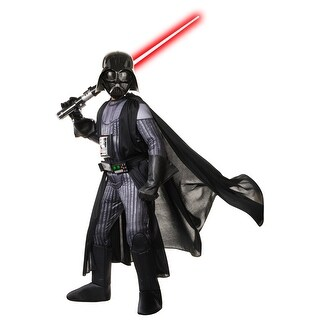 Rubies 2017 Deluxe Darth Vader Child Costume - Black