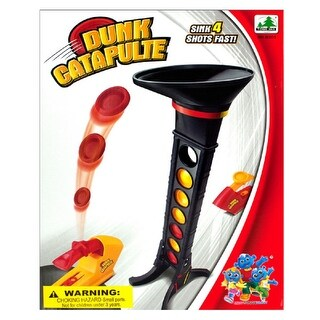 Daily Basic Fun Action Disc Catapult Dunk Shooting Line Up Game
