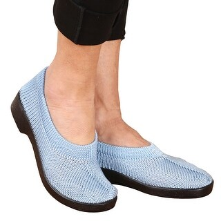 Women's Spring Step Tender Stretch Knit Slip-on Travel Shoes