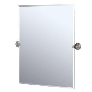Gatco GC4369S Rectangular Mirror from the Charlotte Series - Satin Nickel