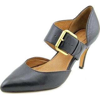 Corso Como Carmina Pointed Toe Leather Mary Janes